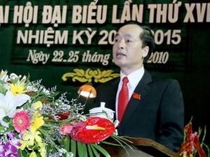 Ông Phạm Hồng Hà là Chủ tịch HĐND Nam Định