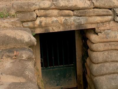 Thăm hầm Đờ Cát sau 58 năm chiến thắng Điện Biên Phủ