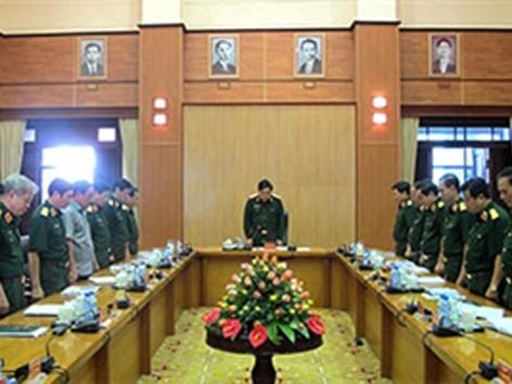 Toàn quân dự Lễ Truy điệu Đại tướng qua truyền hình trực tiếp