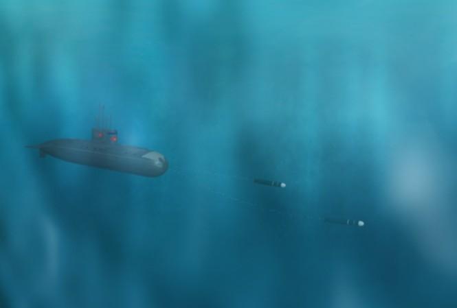 Clip tàu Kilo tác chiến trên Biển Đông