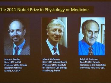 Ba nhà nghiên cứu giành giải Nobel Y học 2011