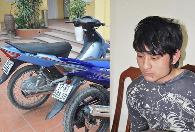 Sinh viên ĐH trộm xe máy lấy tiền trả nợ