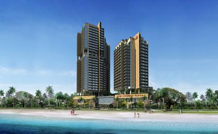 Crowne Plaza Nha Trang áp mái tầng 20