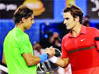 Đụng Nadal, Federer mừng húm