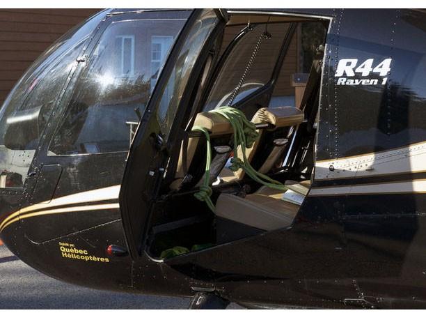 Chiếc máy bay trực thăng trong vụ đào tẩu hi hữu ở Canada