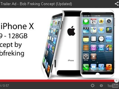 iPhone 6 với màn hình lõm cong 4,8 inch?