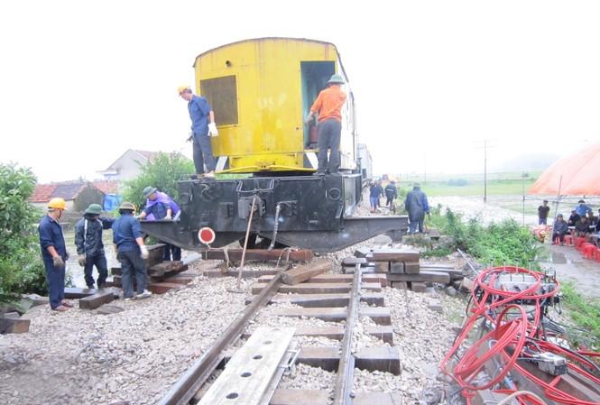 Đã thông tuyến đường sắt Bắc Nam