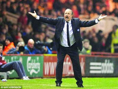 Benitez tính nước chia tay Chelsea