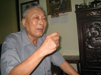 Trung tướng Đồng Sỹ Nguyên, nguyên Ủy viên Bộ Chính trị, nguyên Phó Chủ tịch Hội đồng Bộ trưởng (nay là Chính phủ)