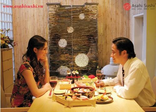 Valentine ngọt ngào tại Long Đình và Asahi