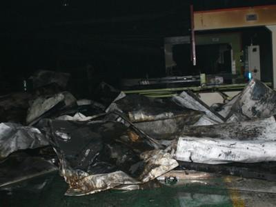 Cháy lớn tại khu công nghiệp Quang Minh