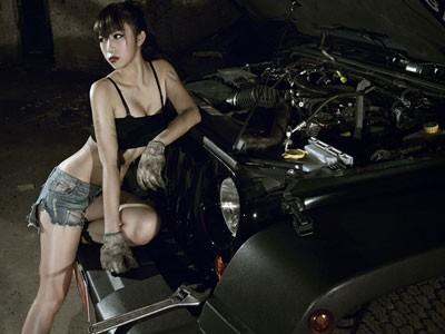 Sexy và bụi bặm sửa Jeep Rubicon