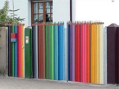 Những kiểu hàng rào độc đáo và sáng tạo nhất