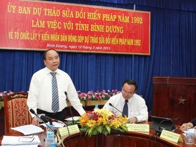 Tiếp tục góp ý sửa đổi Hiến pháp đến hết tháng 9