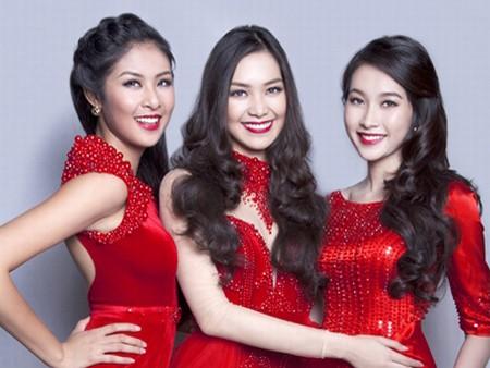 Dàn hoa hậu Việt Nam đọ sắc