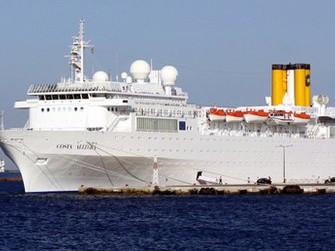 Tàu Costa Allegra có hơn 1000 người trên tàu