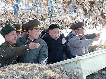 Lãnh đạo Triều Tiên Kim Jong Un thị sát môt đơn vị quân đội