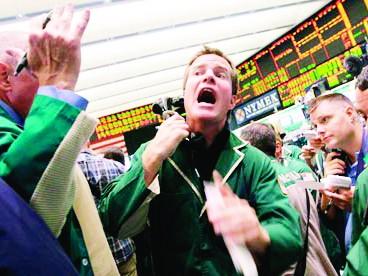 """Một cú hạ bậc tín dụng từ """"Bộ ba quyền lực"""" có thể khiến thị trường ngay lập tức rơi vào hỗn loạn Ảnh: Mary Altaffer/AP"""