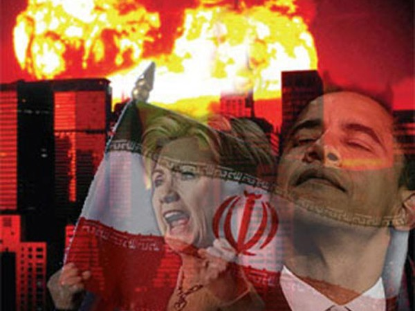 """Có tin cho rằng Tổng thống Mỹ Obama và Ngoại trưởng Hillary Clinton đang bị """"thôi miên"""" trong vấn đề Iran"""