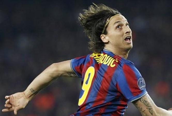 Ibrahimovic đã không còn chỗ trong đội hình Barcelona.