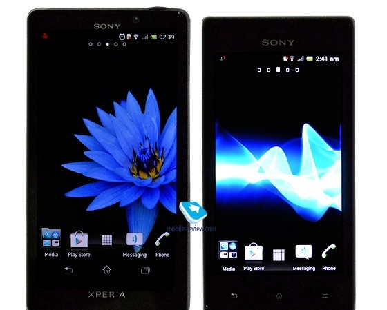 Smartphone Android 4.0 tầm trung Sony Xperia J