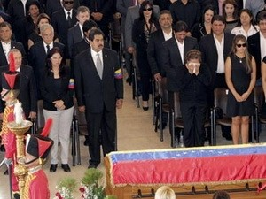 Phó Thủ tướng dự lễ viếng Tổng thống Hugo Chavez