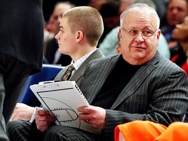 Trợ lý HLV Bernie Fine khi còn làm việc  tại Syracuse Ảnh: Getty Images