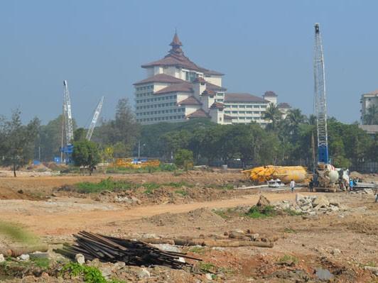 Địa điểm xây dựng khách sạn ở Yangon