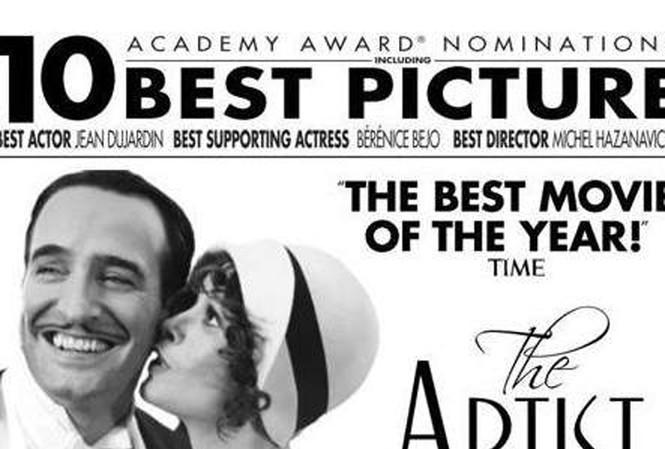 "Oscar trong tầm tay ""Nghệ sĩ"""