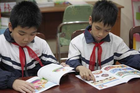 Khánh thành thư viện Trường Tiểu học  Đồng Quang