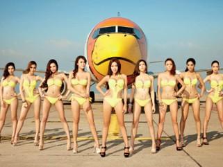 Độc chiêu sexy của hàng không châu Á