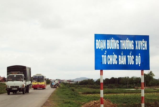 Tại Km 17 qua thôn Hà Tú, xã Chu Điện