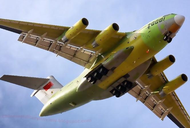 Trung Quốc tìm cơ hội xuất khẩu 'siêu vận' Y-20
