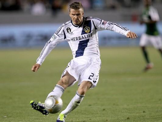 Beckham sút bóng 'không thể chê'