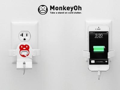 MonkeyOh - thiết bị sạc tiện lợi cho iPhone và iPod