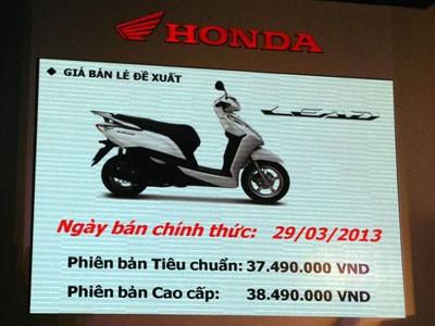 Honda VN tung Lead mới động cơ SH