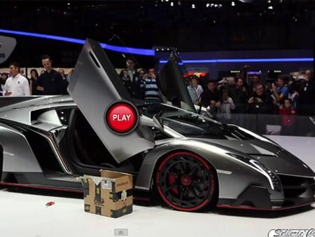 Nghe tiếng gầm 'cực hiếm' của Lamborghini Veneno