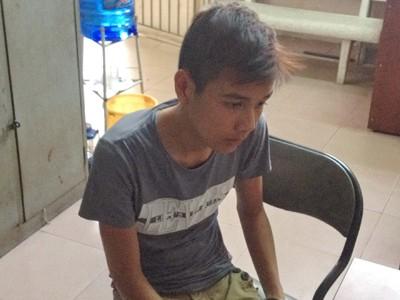 CSGT truy bắt hai tên cướp tuổi teen