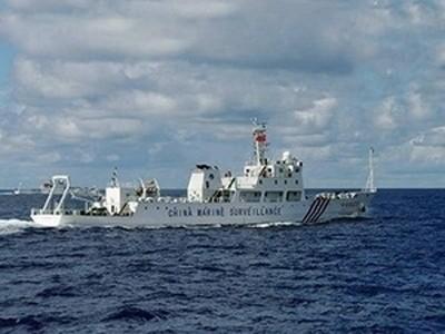 Phản đối tàu hải giám Trung Quốc đóng ở Hoàng Sa