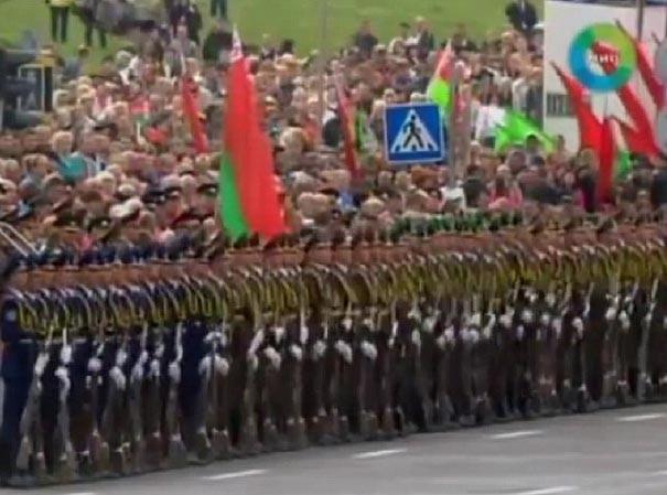 Quân đội Belarus diễn tập theo hiệu ứng Domino
