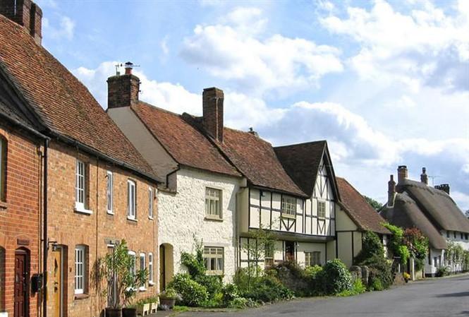 Long Crendon - ngôi làng đẹp như cổ tích