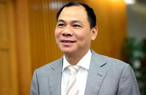 Phạm Nhật Vượng: Tỷ phú Việt được Forbes điểm tên