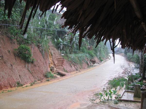 Mưa đá xuất hiện tại vùng cao Thanh Hóa