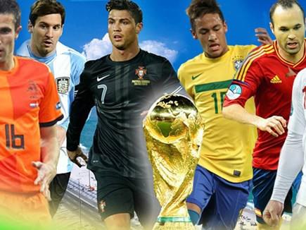 World Cup 2014: Gập ghềnh đường tới Brazil