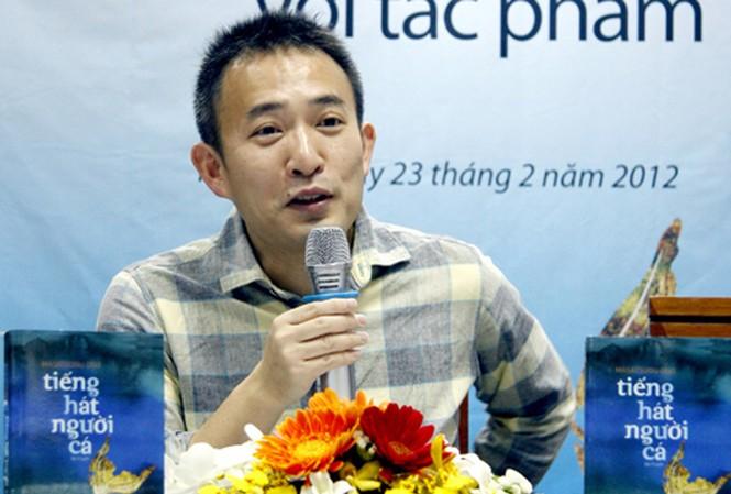 Nhà văn Masatsugu Ono. Ảnh: Lam Điền