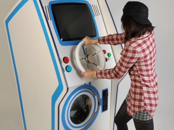 Hứng thú hơn với 'máy giặt game'