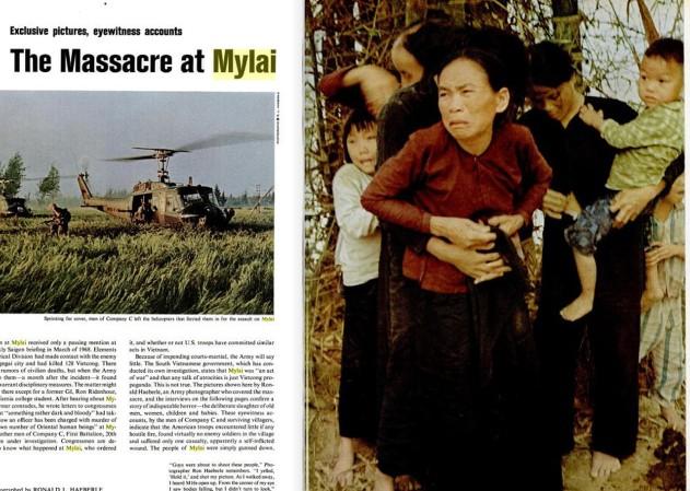 45 năm vụ thảm sát Mỹ Lai trên báo Mỹ
