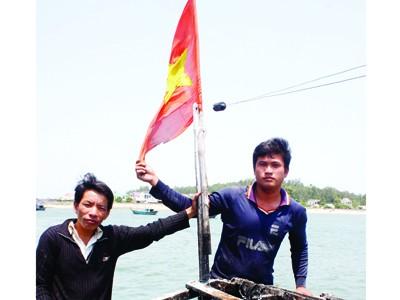 Tàu cá Quảng Ngãi trở lại Hoàng Sa