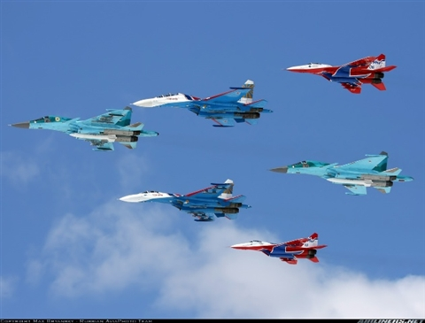 Ẩn số sức mạnh Không quân Nga