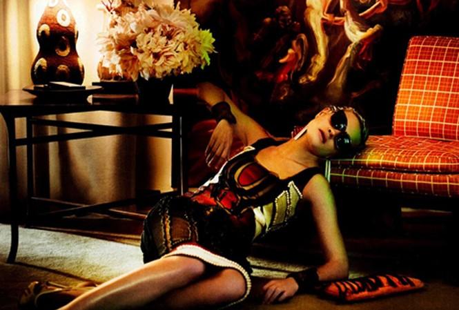 Không gian lạ trước vẻ đẹp siêu mẫu Natalia Vodianova